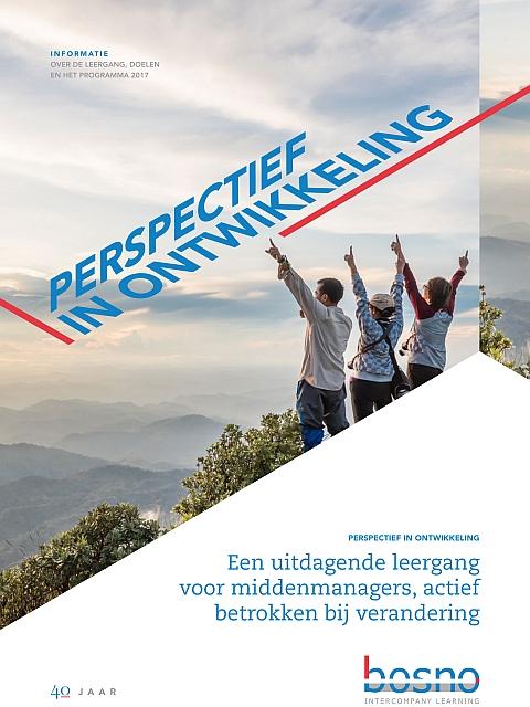 Brochure BOSNO leergang 2017/2018